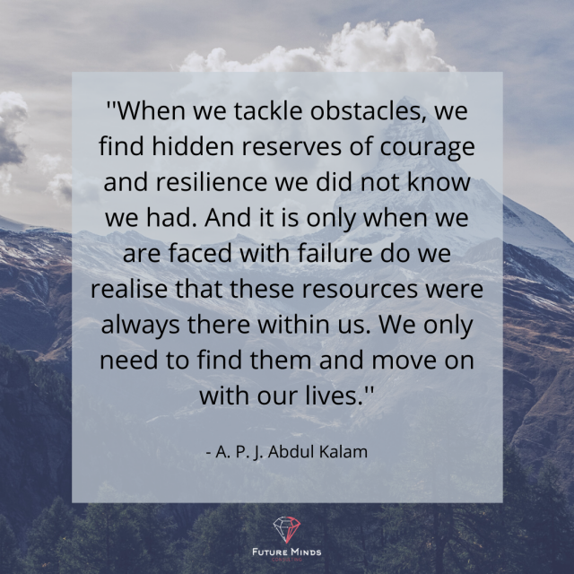 Being resilient – the challenge