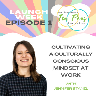 Episode 1 – Cultivating A Culturally Conscious Mindset At Work – With Jennifer Stanzl
